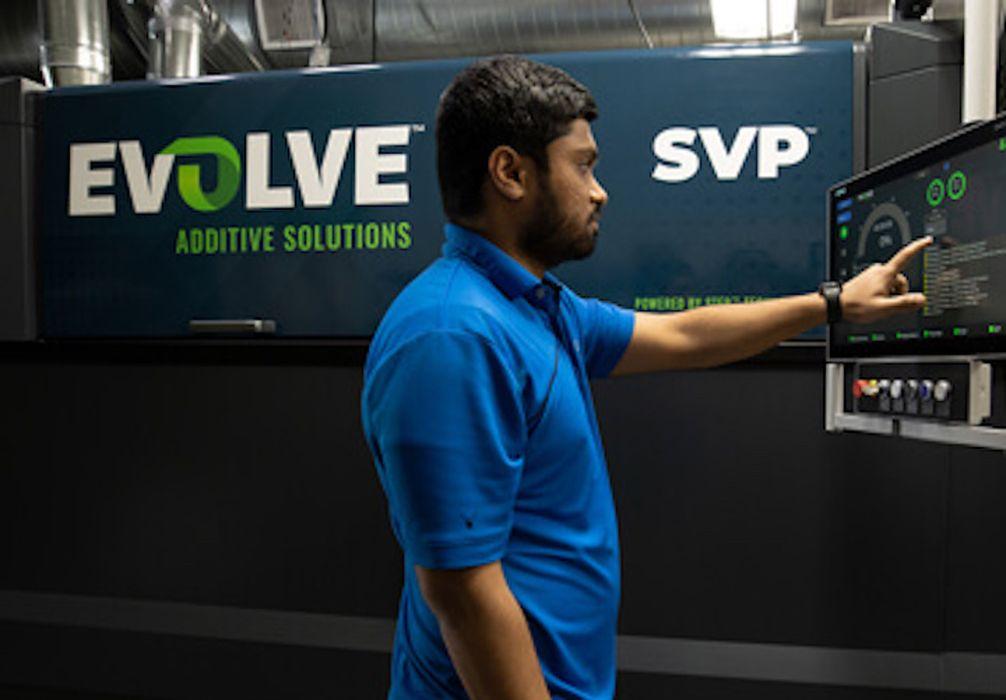 Evolve Additive's STEP AM System Ships