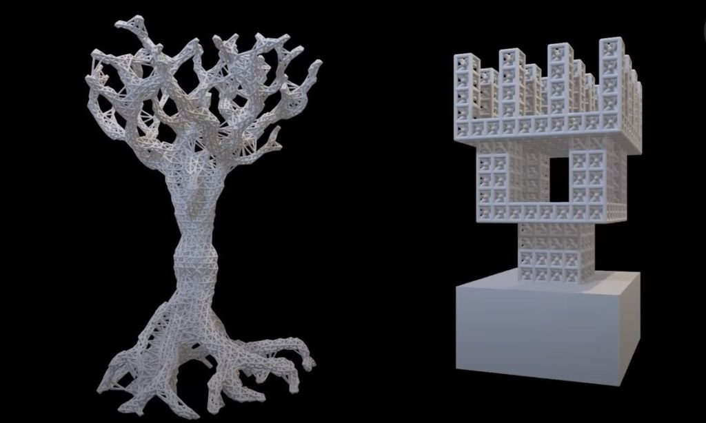 Incredible New 3D Print Application: Exposed Fluids