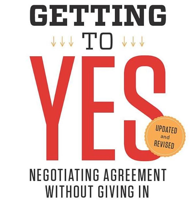 Book of the Week: Getting To Yes