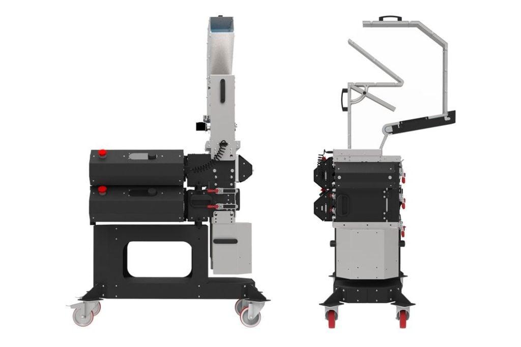 3DEVO's New Smart GP20 Hybrid Plastic Shredder