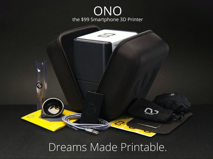Oh No: The End Of The ONO 3D Printer