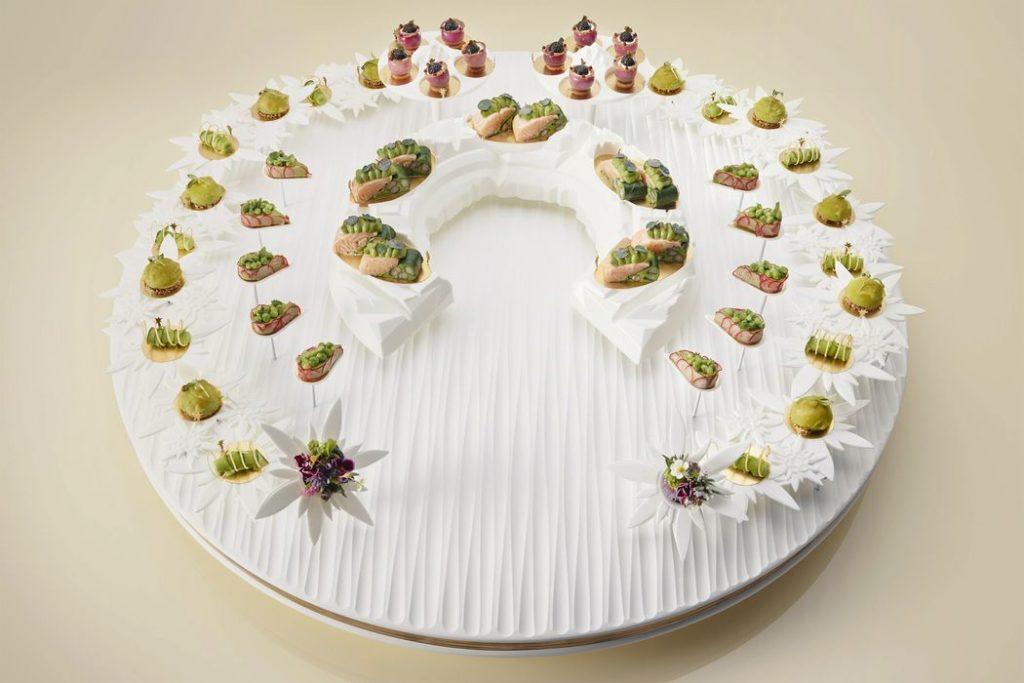 New 3D Printed Food Application: Custom Designed Plating