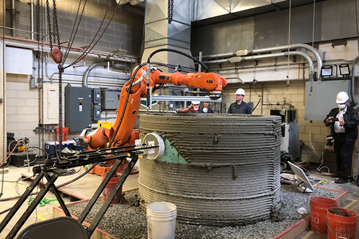 SIKA And The Concrete 3D Printing Revolution