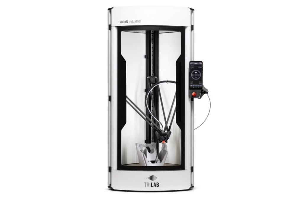Trilab's AzteQ Delta 3D Printer Surprises With Many Unusual Features