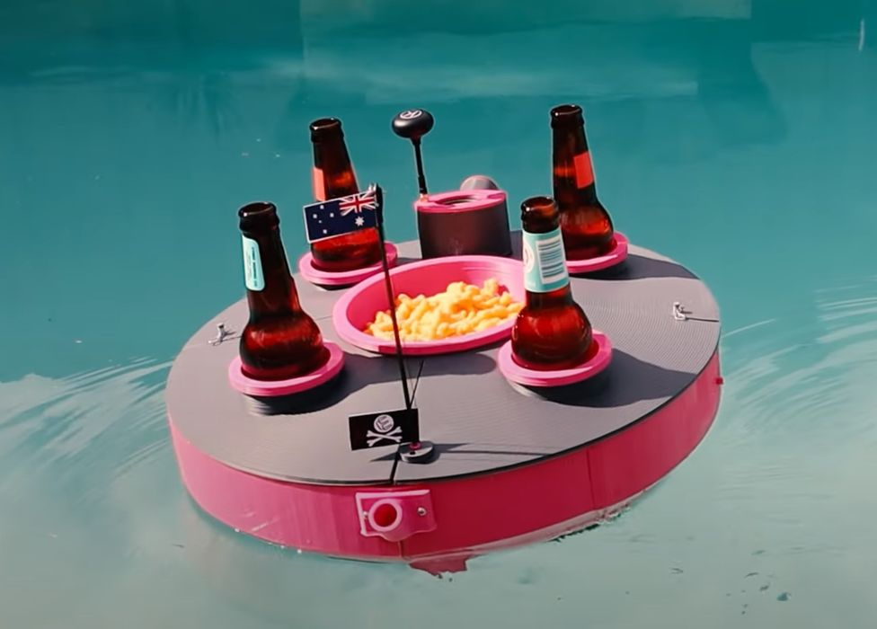 Design of the Week: 3D Printed Radio Controlled Drink and Snack Boat