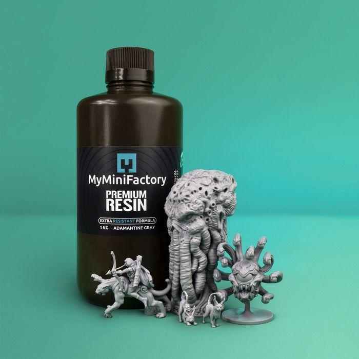 MyMiniFactory Selling Resin?
