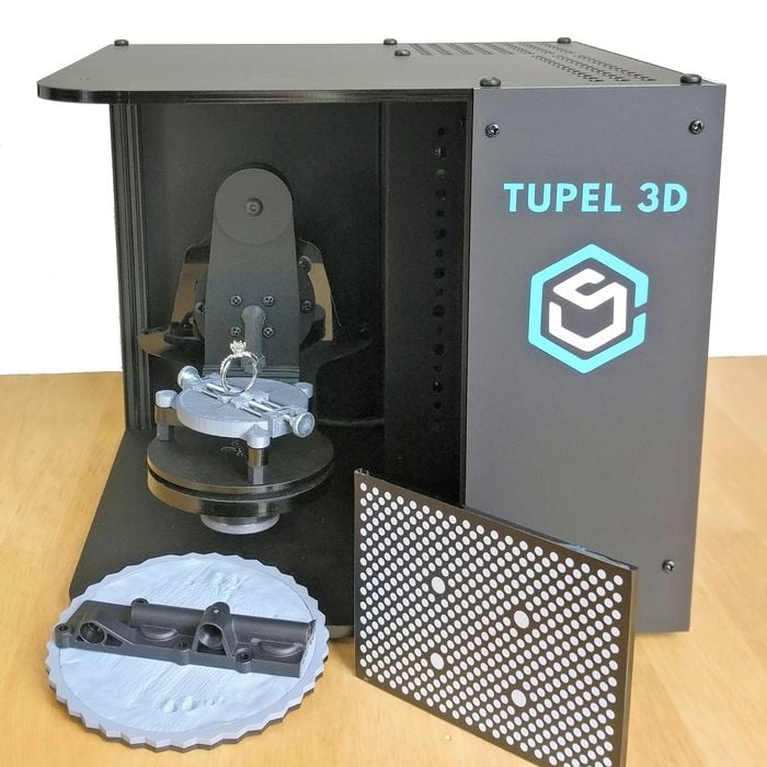 The Tupel 3D Scanner Will Break Financial Barriers