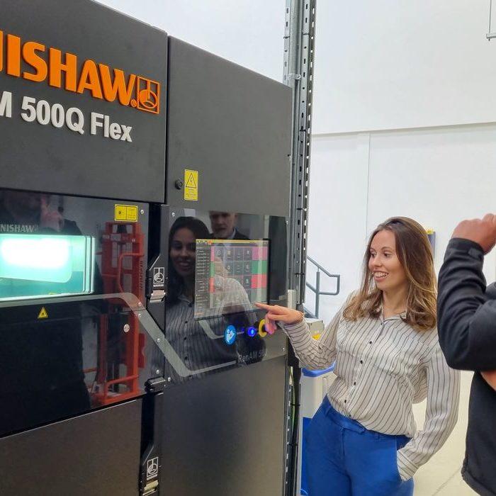 "Renishaw Developing ""Flex"" 3D Printer"