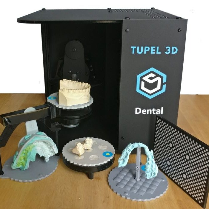 Tupel 3D Adds Powerful, Low Cost Dental 3D Scanner