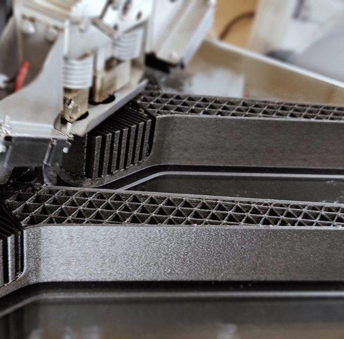Continuous Carbon Fiber 3D Prints For Space Applications?