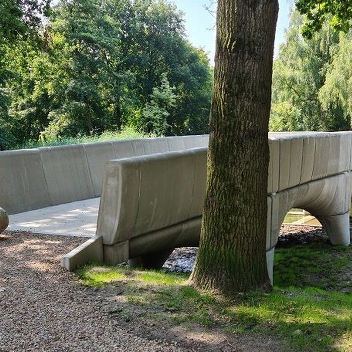 Huge Concrete Bicycle Bridge 3D Printed In The Netherlands