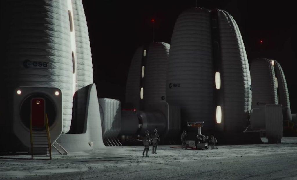 MX3D 3D Prints Prototype Lunar Habitat Floor