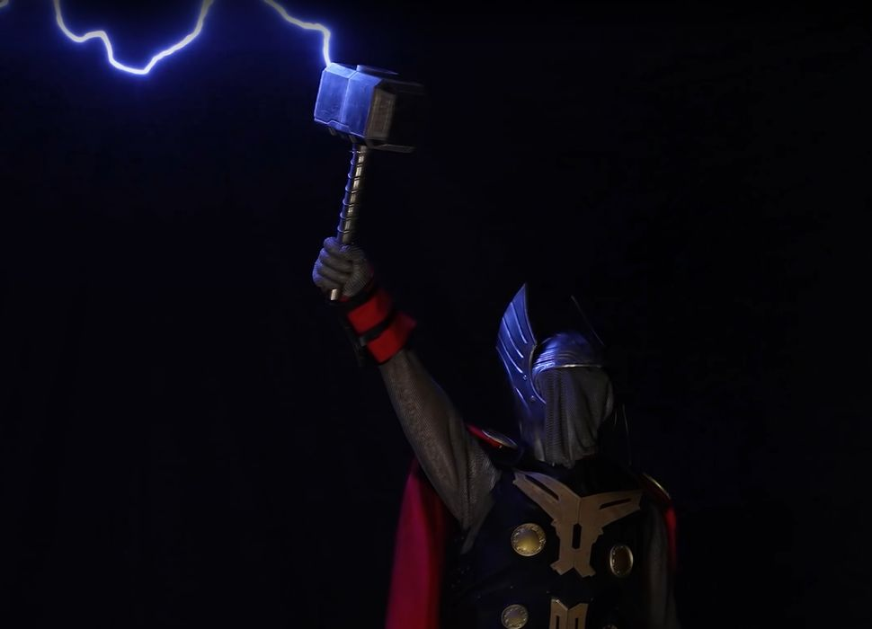Design of the Week: Electroplated Thor Hammer