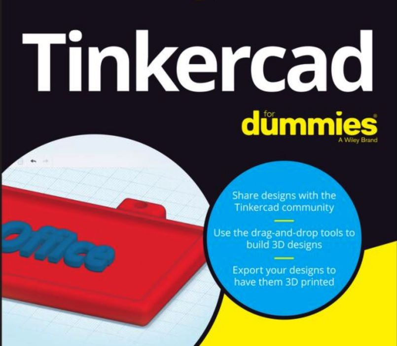 Book of the Week: Tinkercard for Dummies